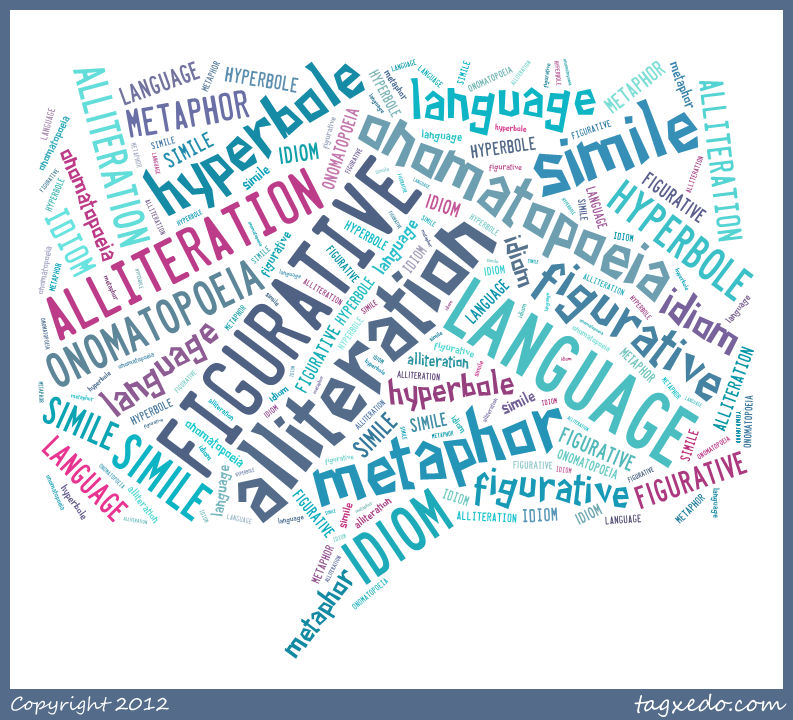 figurative language writing assignment